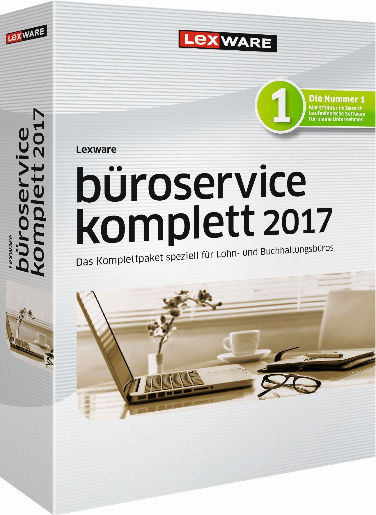 Lexware Büroservice Komplett (Mehrplatzversion)